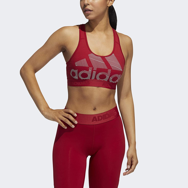 adidas Womens Training Alphaskin Sports Bra
