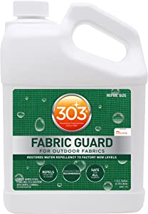 303 (30607) Fabric Guard, Upholstery Protector, Water and Stain Repellent, 128 fl. oz.