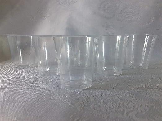 Vaso de chupito de plástico biodegradable (1000 unidades, 30 ml, 3 ...