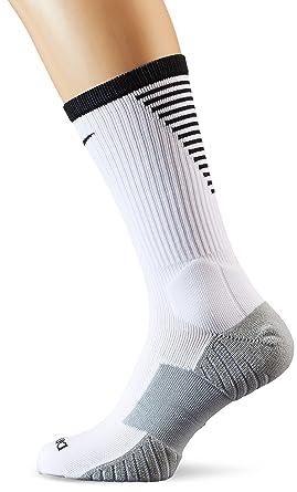 Amazon.com: NIKE Squad Crew Football Sock (Small, White ...