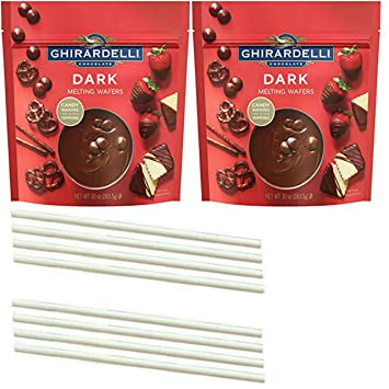 Amazon Com Ghirardelli Chocolate Melting Wafers One Stop Shopping