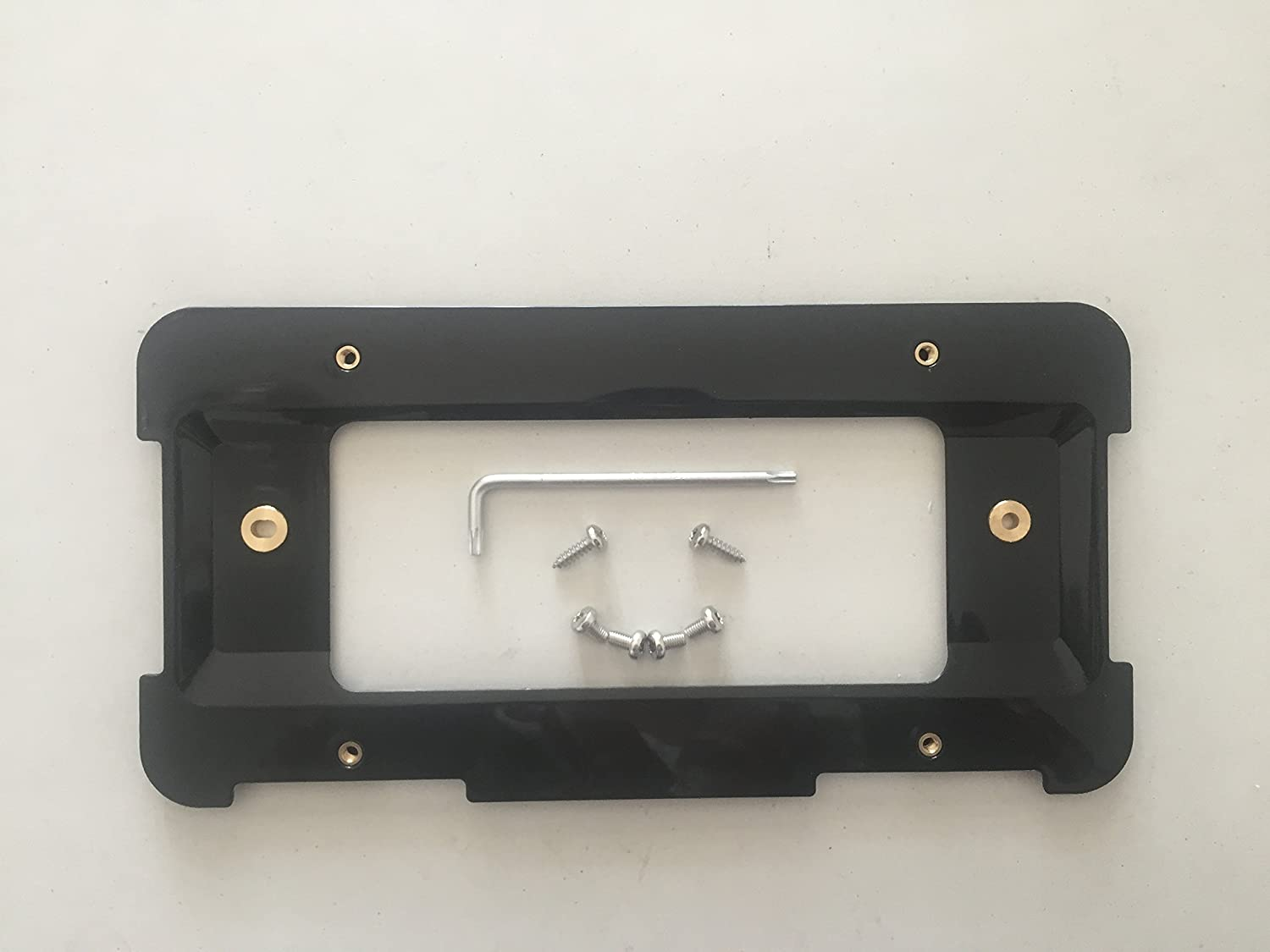 Unique Screws /& Wrench NEW Rear License Plate Holder Bracket For BMW
