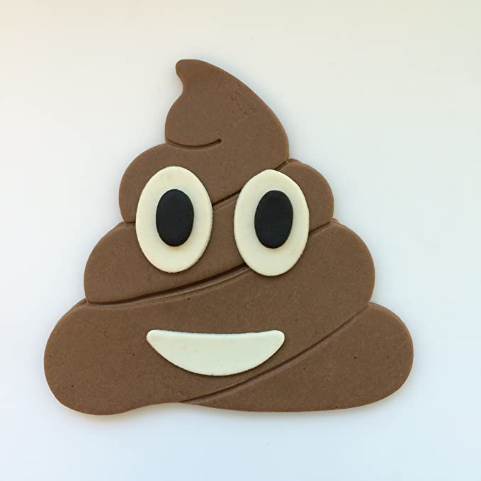 Poop Emoji Cookie Cutter 3D Printed