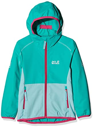 Jack Wolfskin Girls Turbulence Jacket: : Sport