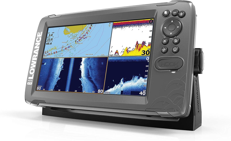 Lowrance HOOK2 Buscador de peces con transductor TripleShot y tarjeta de mapa de Estados Unidos/Canadá Navionics+ - 000-14294-001, Us/Can Nav+, 7 Inch, Triple disparo.: Amazon.es: Deportes y aire libre