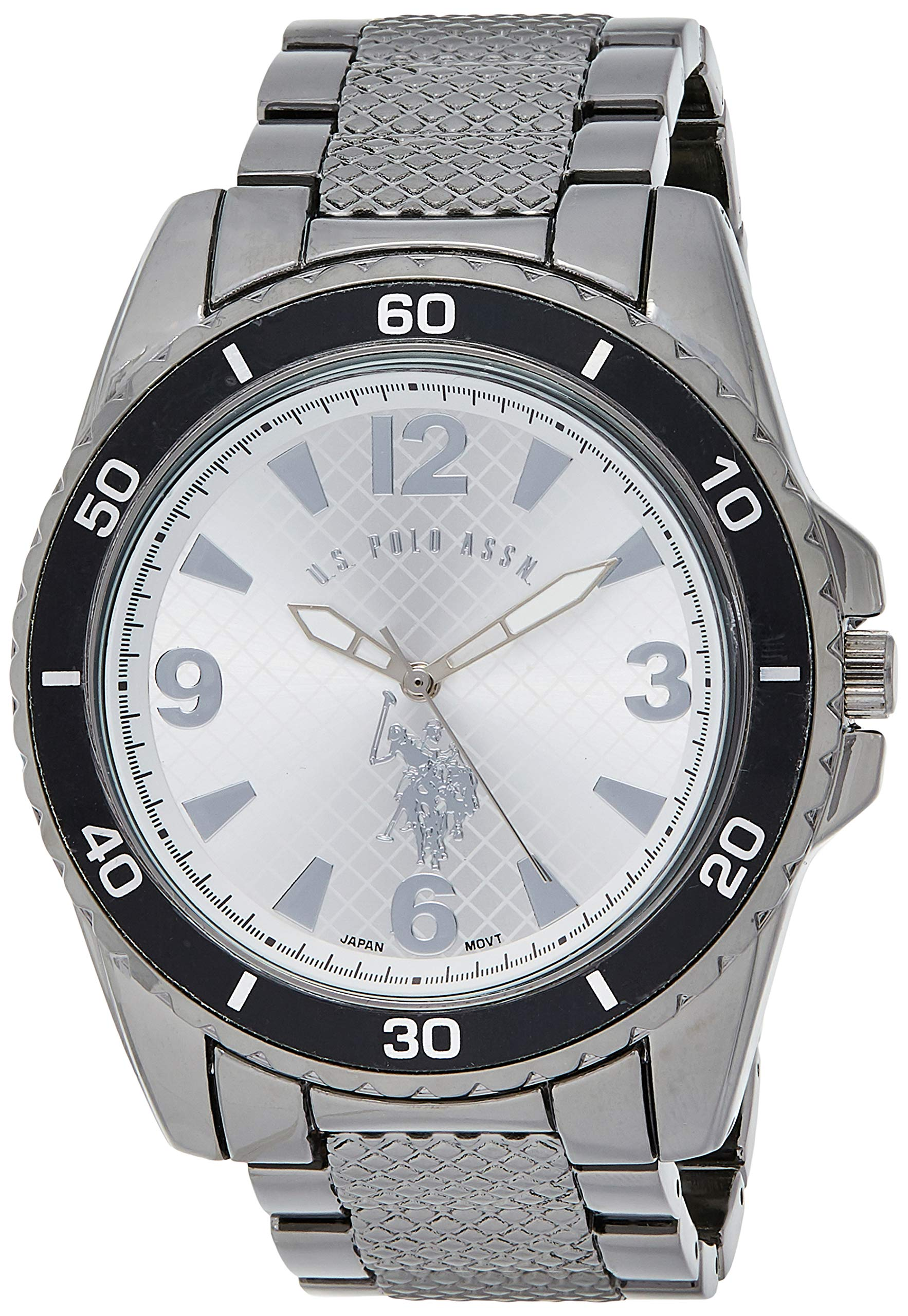 U.S. Polo Assn. Classic Men's USC80257 Analog Display Analog Quartz Two Tone Watch
