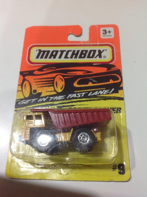 Amazon.com: Tyco Toys Inc Matchbox Earth Mover Dump Truck ...