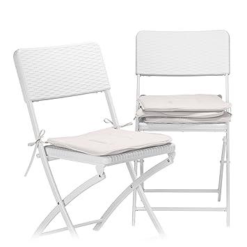 de de Boucles Coussin Galette Chaise Chaise Relaxdays avec dthxQrCs
