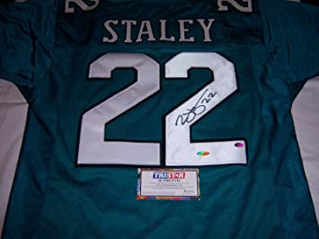 eb6013e3099 Duce Staley Autographed Jersey - Eagles coa - Tristar Productions Certified  - Autographed NFL Jerseys