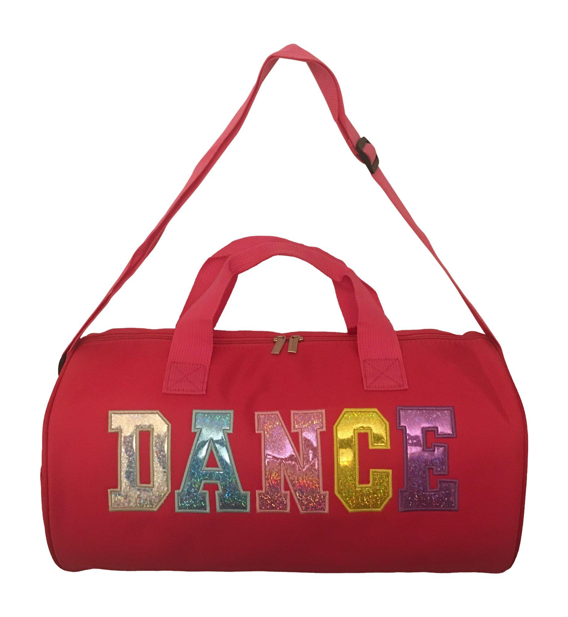 Girl's Nylon Dance Duffle Bag (Fuchsia)
