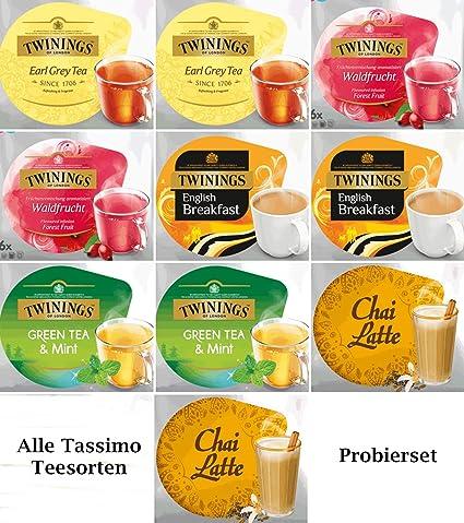Tassimo T Disc Probierpaket: Alle Tassimo Teesorten: Amazon.de ...