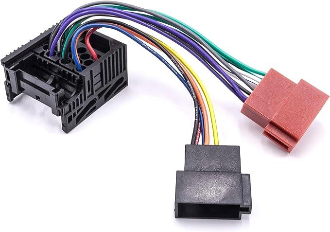 Vhbw Iso Adapter Kabel Kfz Auto Radio Passend Für Bmw Elektronik