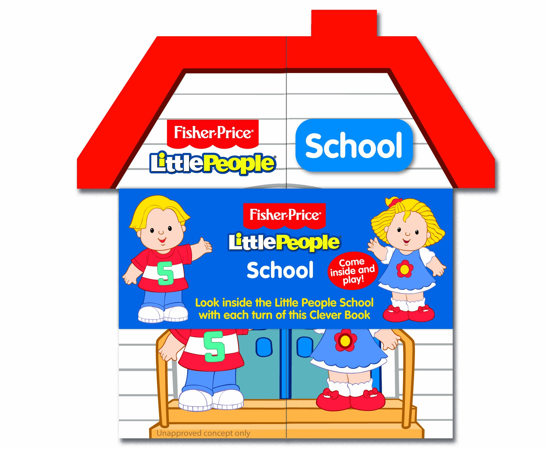 Clever Book Fisher Price Little People School pdf epub