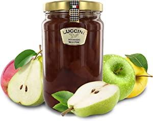 Luccini Artisanal Apple and Pear Mostarda - Italian Speciality Food, Traditional Recipe - 2kg / 4.4lb