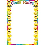 Ashley Productions ASH91005 Smart Poly Chart Class Rules Emojis