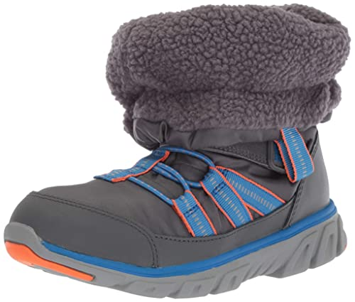 New made 2 play stride rite kaleb grey machine washable boys shoes.