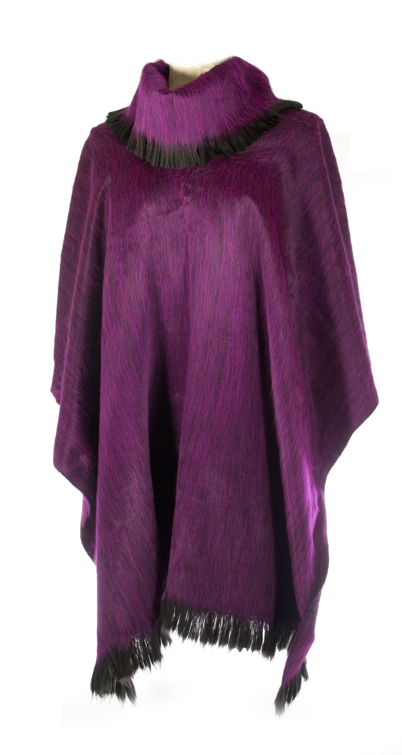 Shupaca Pullover Shawl, Grape