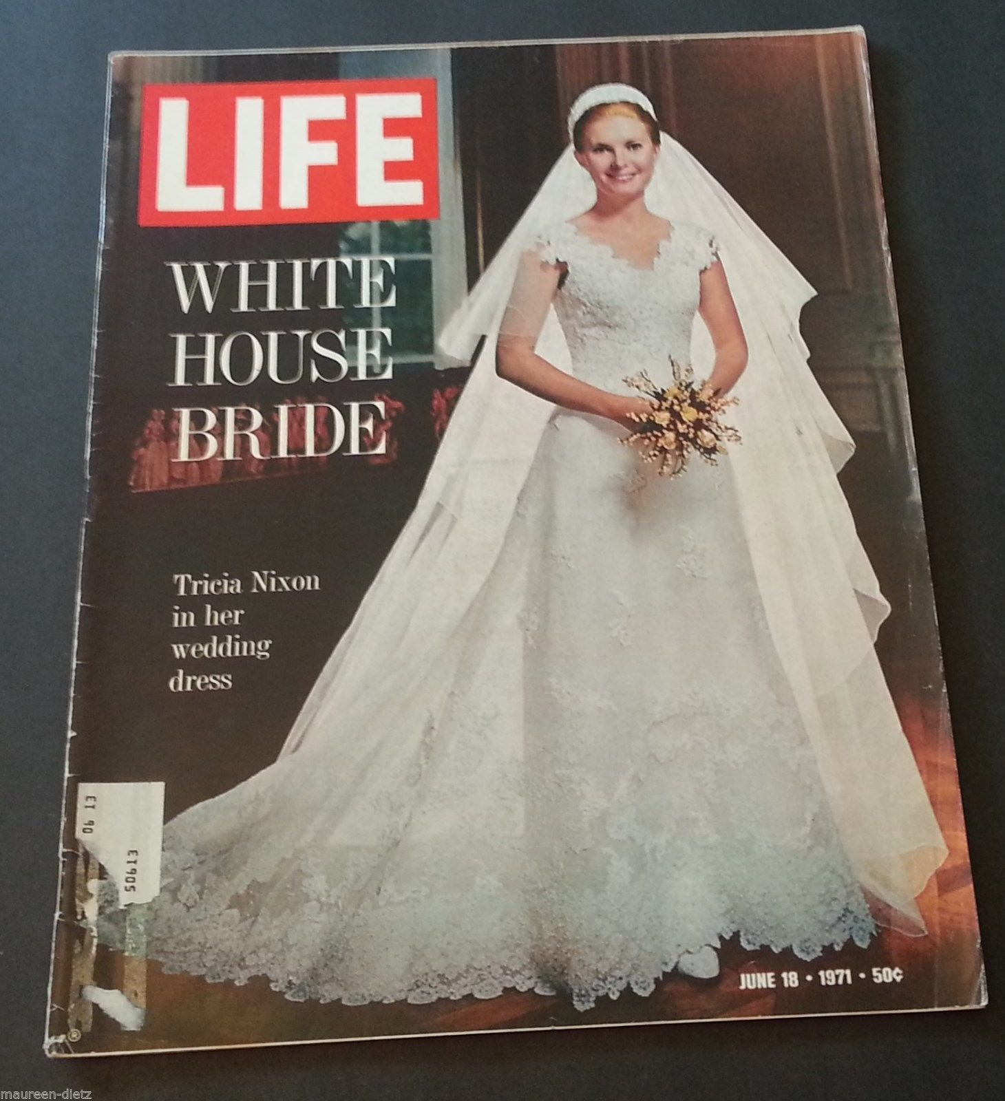 Tricia Nixon Wedding Gown