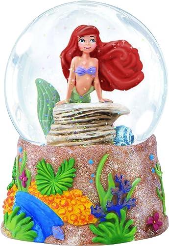 Precious Moments, Disney Showcase Collection, Ariel , Resin Glass Musical Snow Globe, 143709