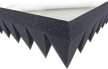 Pyramidenschaumstoff TYP 100x50x7 Akustikschaumstoff Schall dämmmatten Dämmung