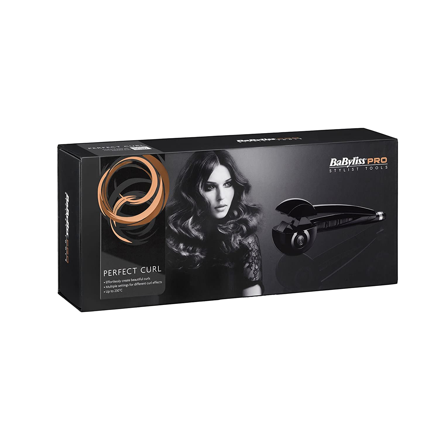 BaByliss Hair Styler 2655 E Hot air brush 300W - Moldeador de pelo (Hot air brush, 300 W): Amazon.es: Salud y cuidado personal