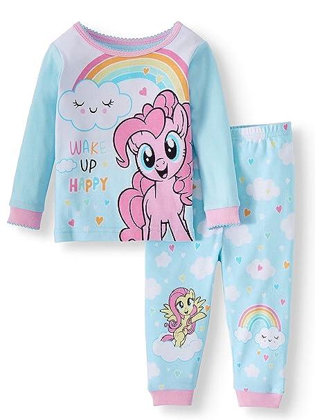 185eacea7 Amazon.com  Hasbro My Little Pony Wake Up Happy 2 Piece Baby Girls ...