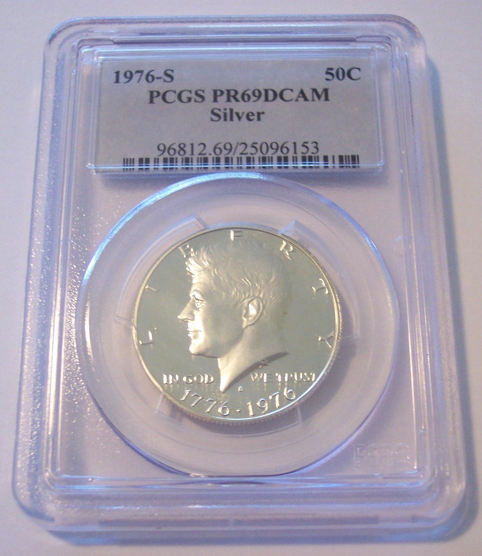 2004-S Silver Kennedy Half PR69DCAM PCGS Proof 69 Deep Cameo