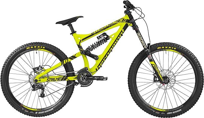 Bergamont Straitline 8.0 DH MTB 27.5 bicicleta verde/negro 2016 ...