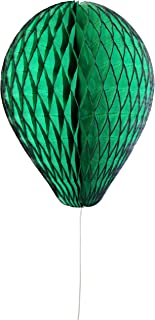 product image for 3-Pack 11 Inch Honeycomb Tissue Paper Balloon (Dark Green)