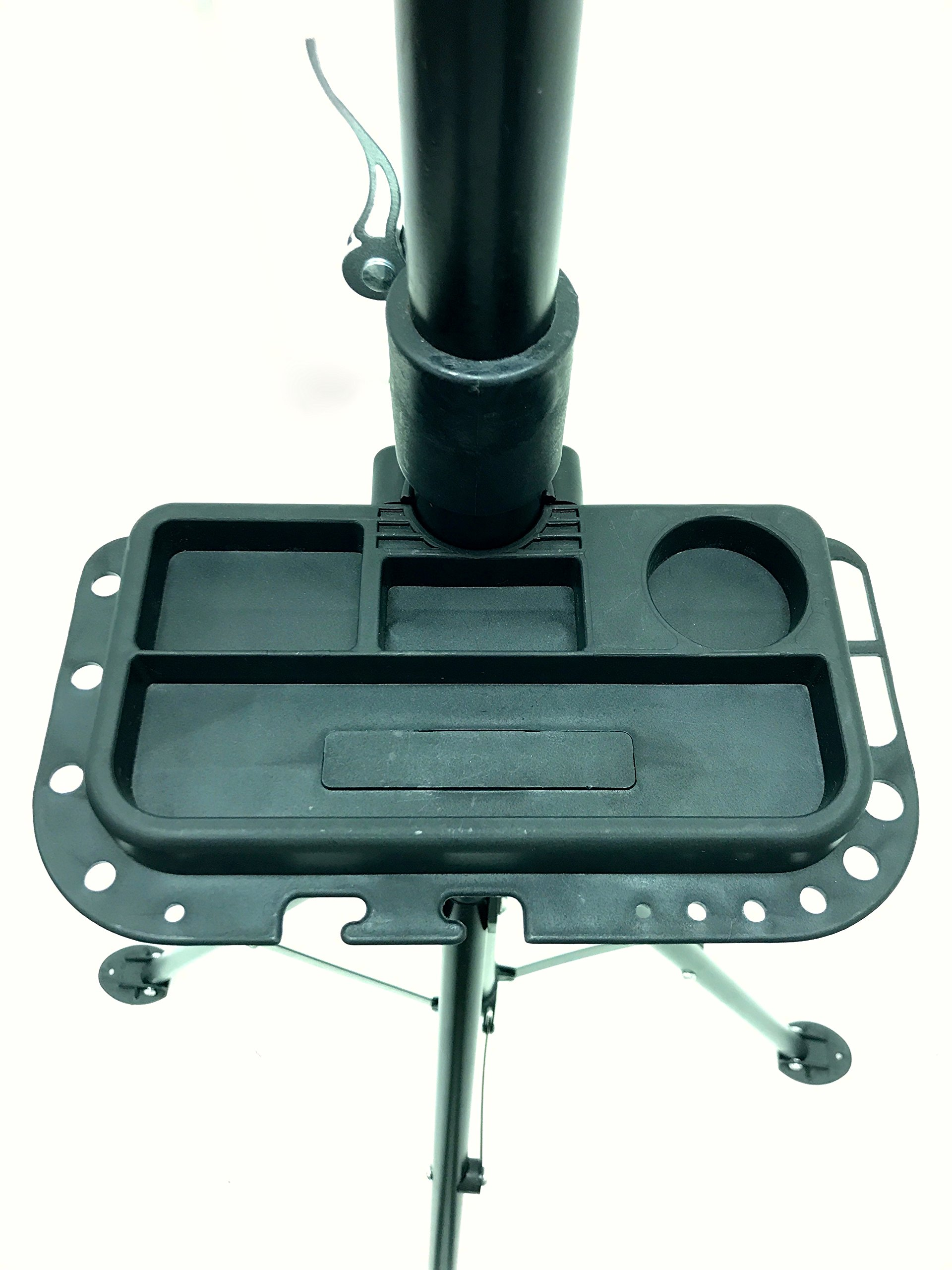 MaxxHaul 80725 Bike Repair Stand/Display with Adjustable Height & 360 Deg. Rotating Head Clamp by MaxxHaul (Image #3)