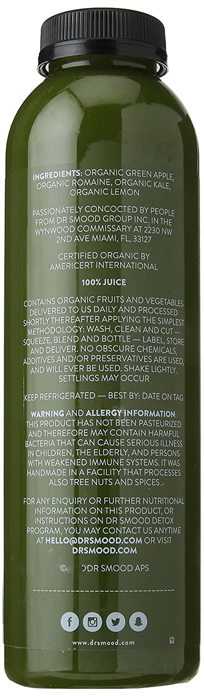 amazoncom dr smood detox no 1 16oz bottle grocery gourmet food