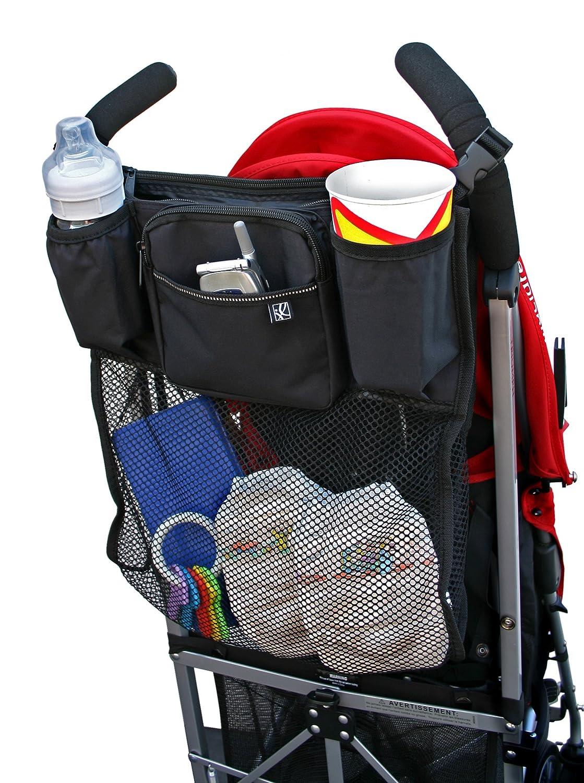 J.L. Childress Cups 'N Cargo Stroller Organizer Black 1 Pack J. L. Childress 2908