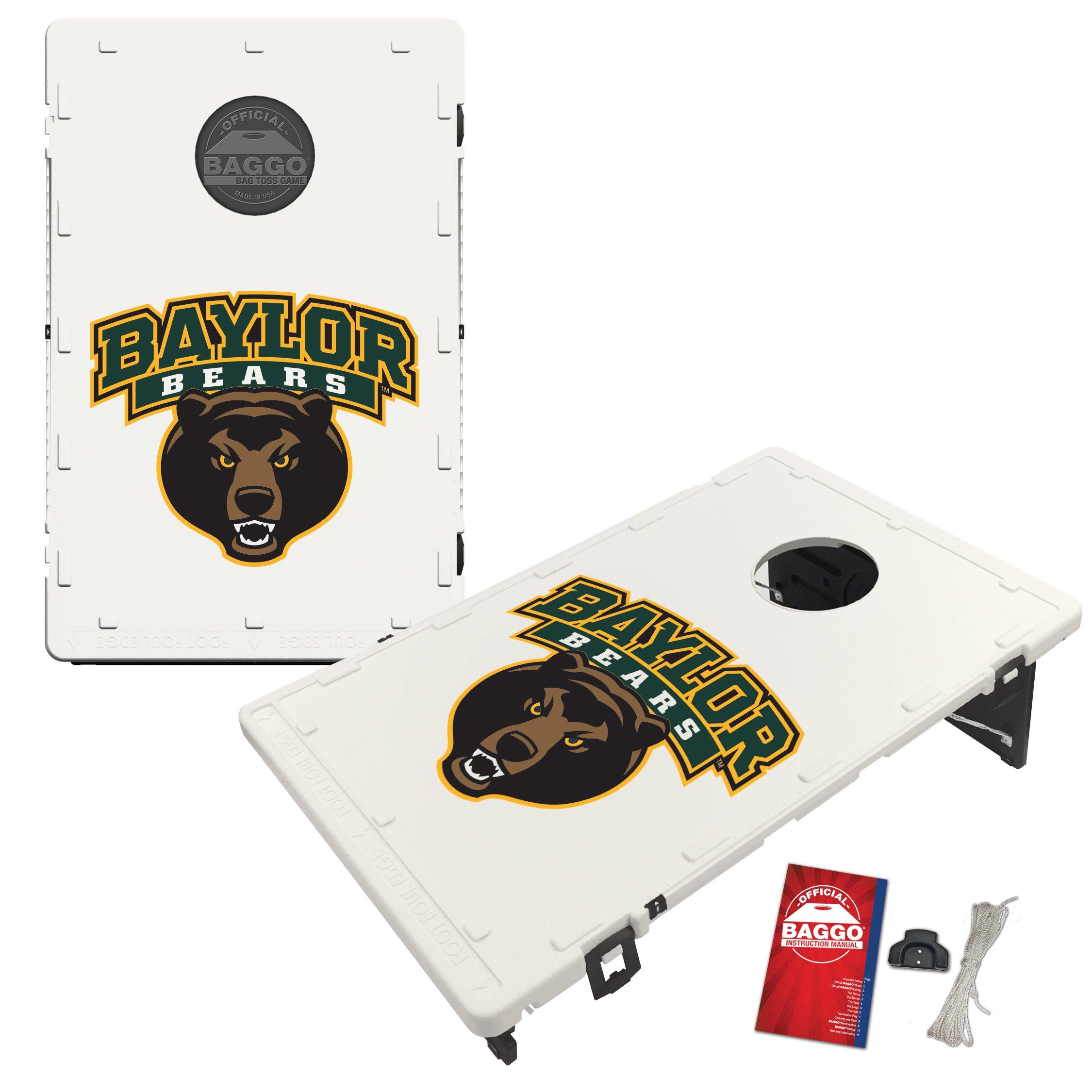 Baylor University Bears Baggo Bean Bag Toss Cornhole Game Classic Design