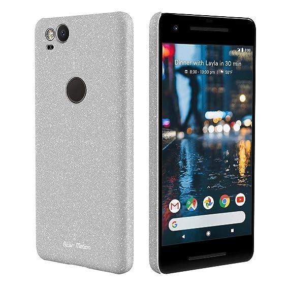 buy popular 29cfe 5c983 Slim Case for Google Pixel 2 Case - Bear Motion Premium Back Cover for  Google Pixel 2 - (Gray)