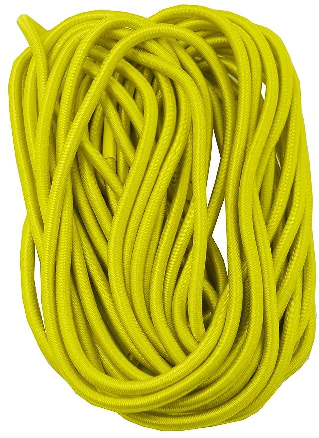 Savage Island strapazierf/ähiges 10 mm Gummiseil elastisches Band Bungee Strick mit 6 Haken