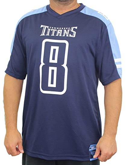 detailed look ad09d 606b5 Amazon.com : Marcus Mariota Tennessee Titans Hashmark Blue ...