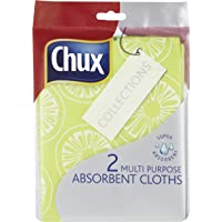 Chux Multi Purpose Absorbent Cloth, 2 count