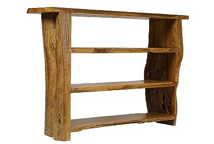 Ripiani In Legno Fai Da Te : Windalf hobbit libreria rhory b: 120 cm spa da bagno in legno