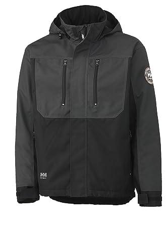 new concept 0a695 4af23 Helly Hansen 34-076201 Workwear Funktionsjacke/Berg Jacket  Winterjacke,grau/schwarz,3XL
