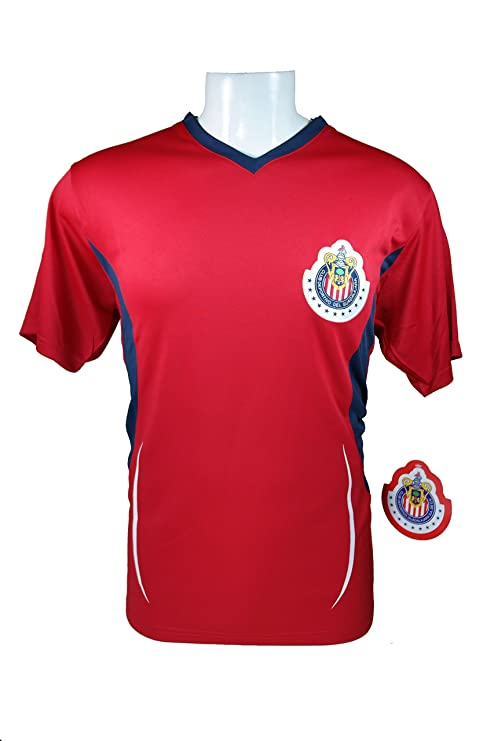 677db1548 Chivas De Guadalajara Official Adult Soccer Training Poly Jersey -005 Large