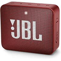 JBL GO 2 Taşınabilir Bluetooth Hoparlör, Kırmızı