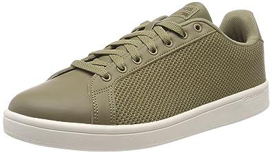 buy popular 986e5 fd107 Adidas Mens Cf Advantage Cl CargoCargoDrkcar Tennis Shoes-11 UK