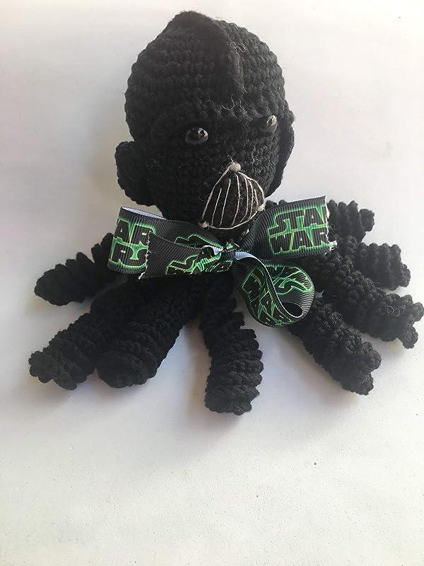 Darth Vader amigurumi doll - CROCHET | 800x600