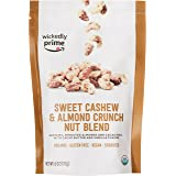 Wickedly Prime Organic Sprouted Nut Blend, Sweet Cashew & Almond Crunch, 6 Ounce