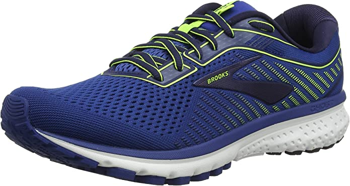 Brooks Ghost 12 Sneakers Laufschuhe Herren Blau (Navy Nightlife)