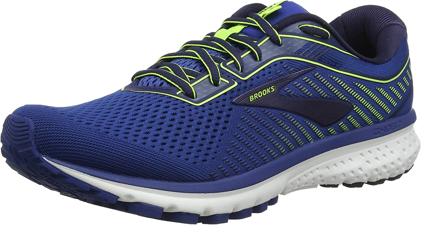 Brooks Ghost 12, Zapatillas de Running para Hombre, Azul Marino, 40.5 EU: Amazon.es: Zapatos y complementos
