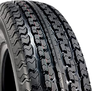 Set of 2 (TWO) Transeagle ST Radial II Steel Belted Premium Trailer Tires-ST205/75R15 107/102L LRD 8-Ply