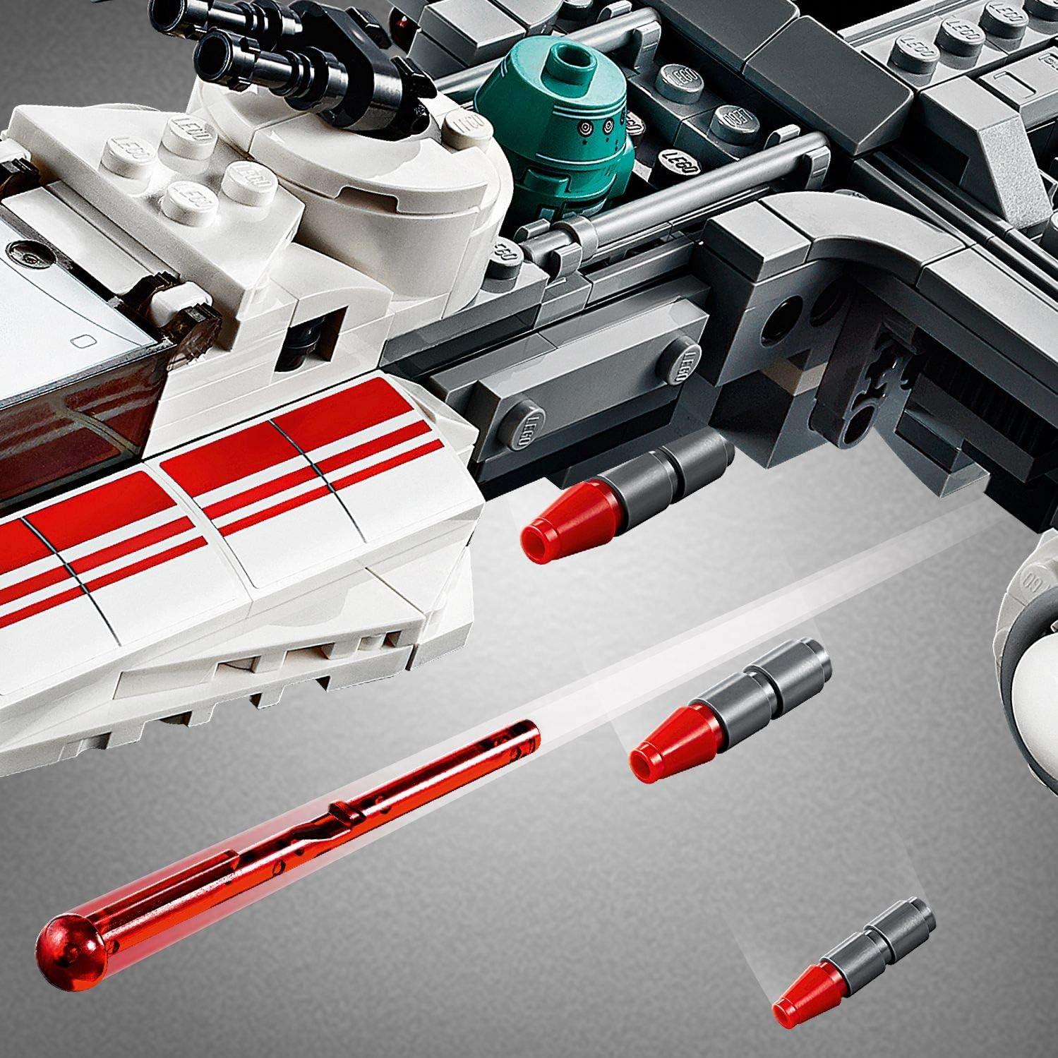 578 Pi/èces /à Construire 75249 LEGO/®-Star Wars/™ Y-Wing Starfighter/™ de la R/ésistance Jouet Enfant /à Partir de 8 ans