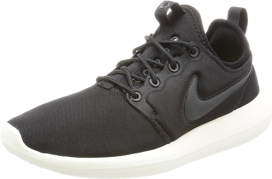 attractive price new list best deals on Nike W Roshe Two, Women's Low-Top Sneakers, Black (Black (black ...