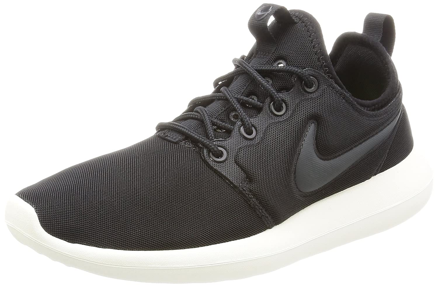 NIKE Women's Roshe Two Running Shoe B01KHQQOV0 6.5 B(M) US|Black / Anthracite-sail-volt